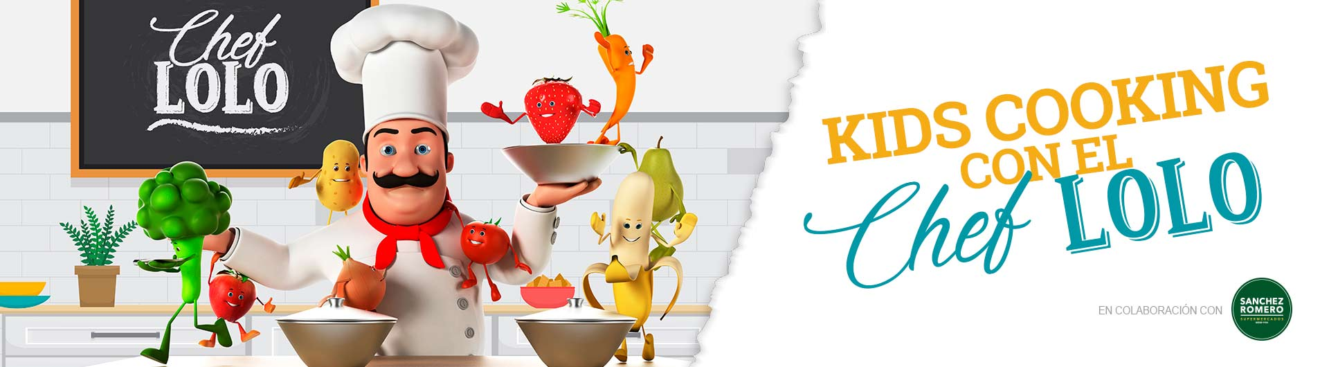Kids Cooking con Chef Lolo
