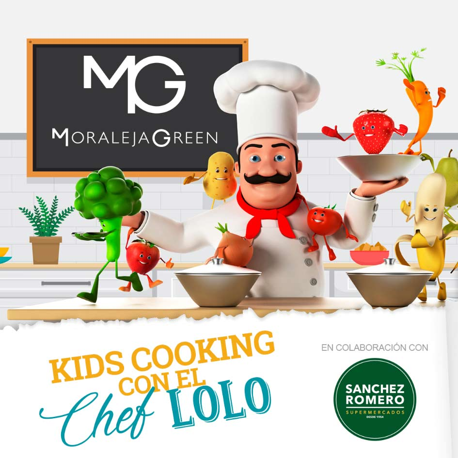 Kids Cooking con el Chef Lolo